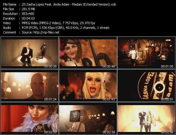 Sasha Lopez Feat. Anda Adam video screenshot