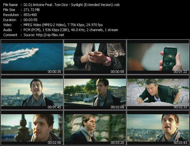 Dj Antoine Feat. Tom Dice video screenshot