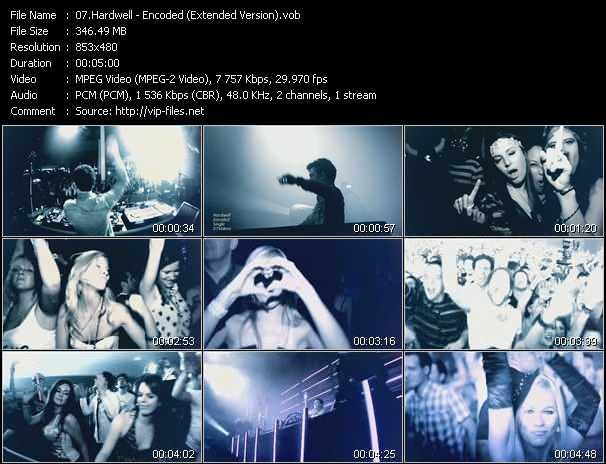Hardwell video screenshot