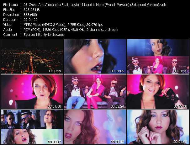 Crush And Alexandra Feat. Leslie video screenshot