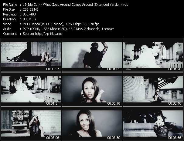 Ida Corr video screenshot