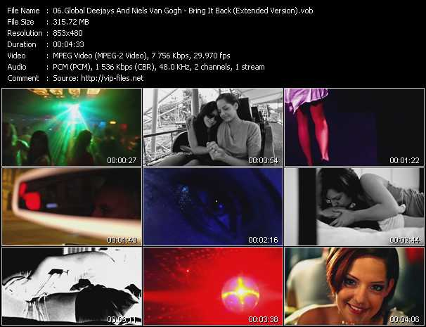 Global Deejays And Niels Van Gogh video screenshot