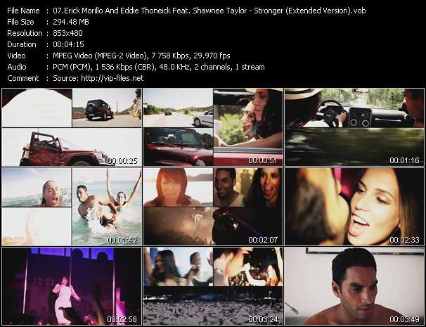 Erick Morillo And Eddie Thoneick Feat. Shawnee Taylor video screenshot