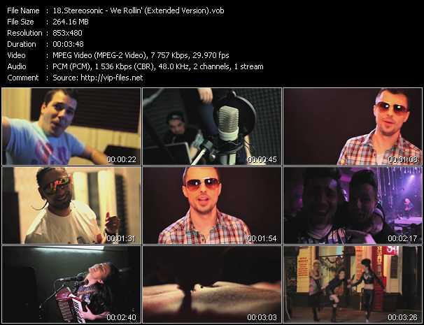 Stereosonic video screenshot