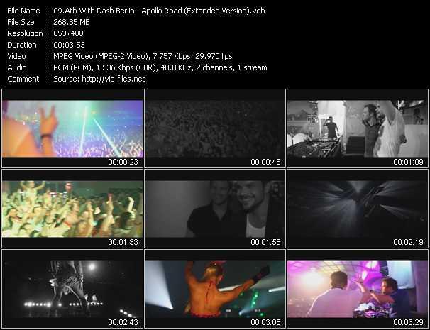 Atb With Dash Berlin video screenshot
