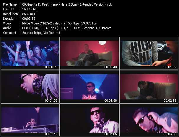 Guenta K. Feat. Kane video screenshot