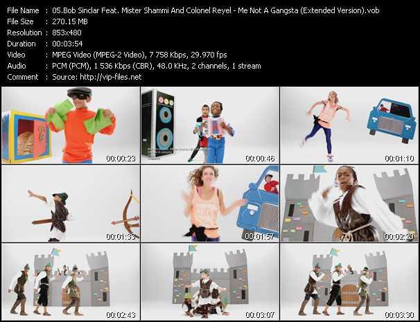 video Me Not A Gangsta (Extended Version) screen