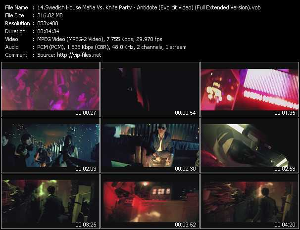 video Antidote (Explicit Video) (Full Extended Version) screen