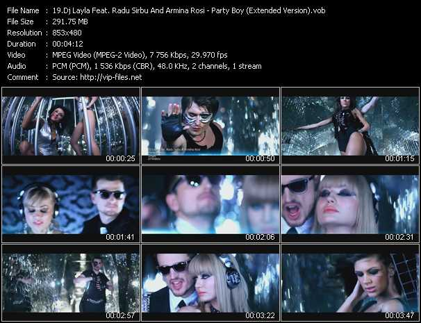 Dj Layla Feat. Radu Sirbu And Armina Rosi video screenshot