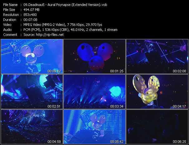 Deadmau5 video screenshot