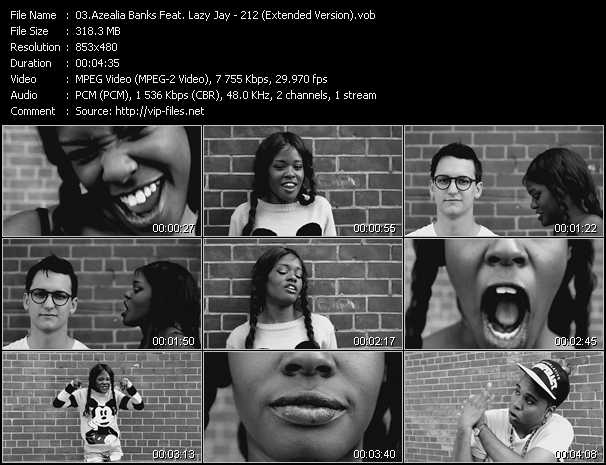 Azealia Banks Feat. Lazy Jay video screenshot