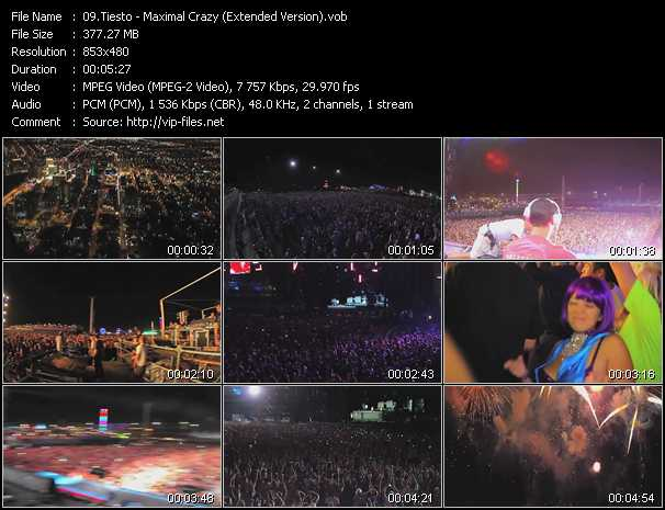 video Maximal Crazy (Extended Version) screen