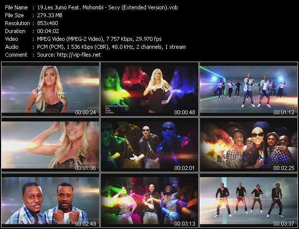 Les Jumo Feat. Mohombi video screenshot