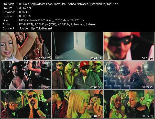 Nejo And Dalmata Feat. Tony Dize video screenshot