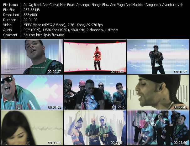 O.G. Black And Guayo Man Feat. Arcangel, Nengo Flow And Yaga And Mackie video screenshot