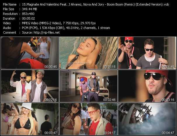 Magnate And Valentino Feat. J Alvarez, Nova And Jory video screenshot