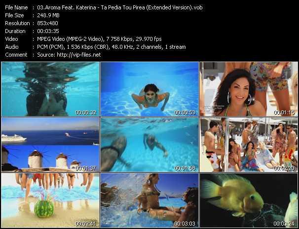 Aroma Feat. Katerina video screenshot