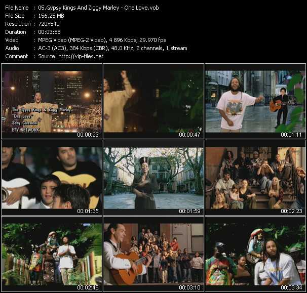 Gypsy Kings And Ziggy Marley video screenshot