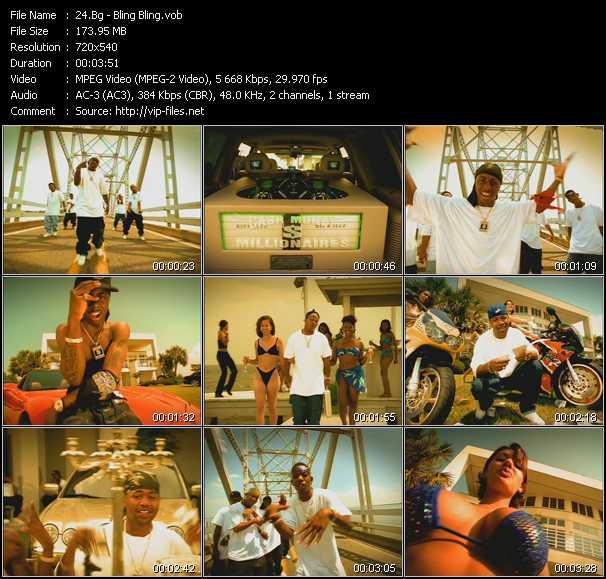B.G. video screenshot