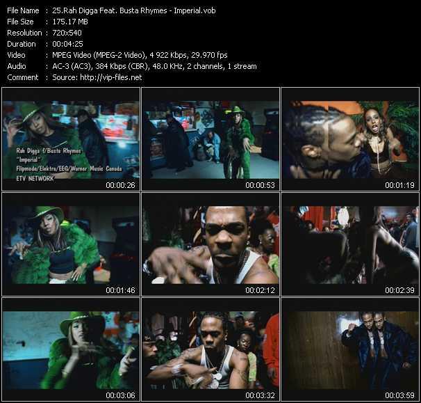Rah Digga Feat. Busta Rhymes video screenshot