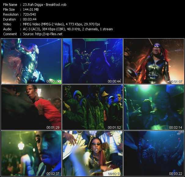 Rah Digga video screenshot