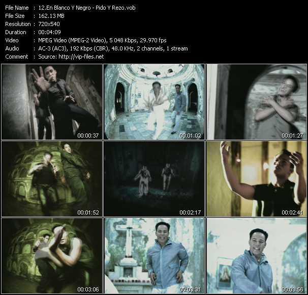 En Blanco Y Negro video screenshot