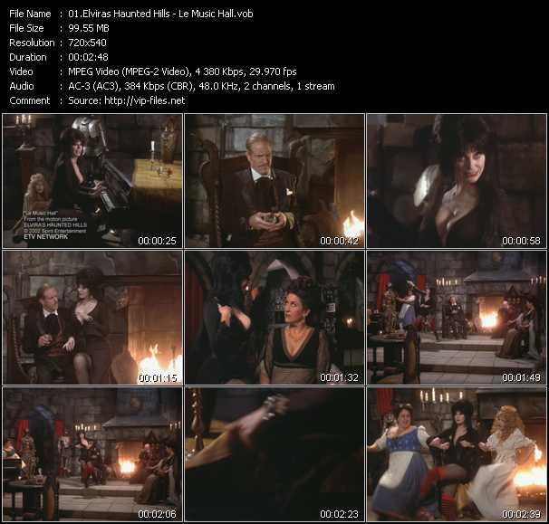 Elviras Haunted Hills video screenshot