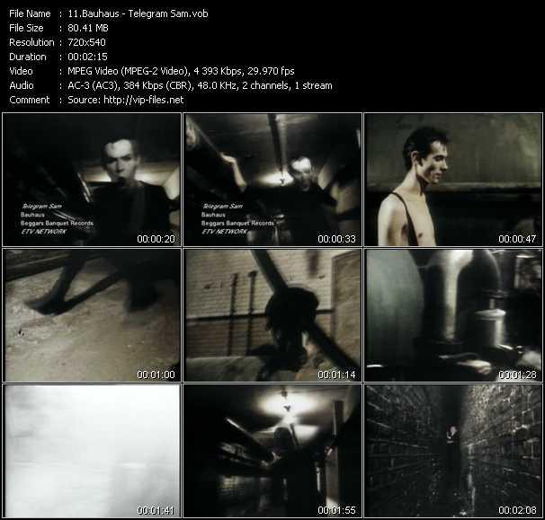 Bauhaus video screenshot