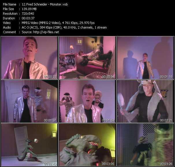 Fred Schneider video screenshot