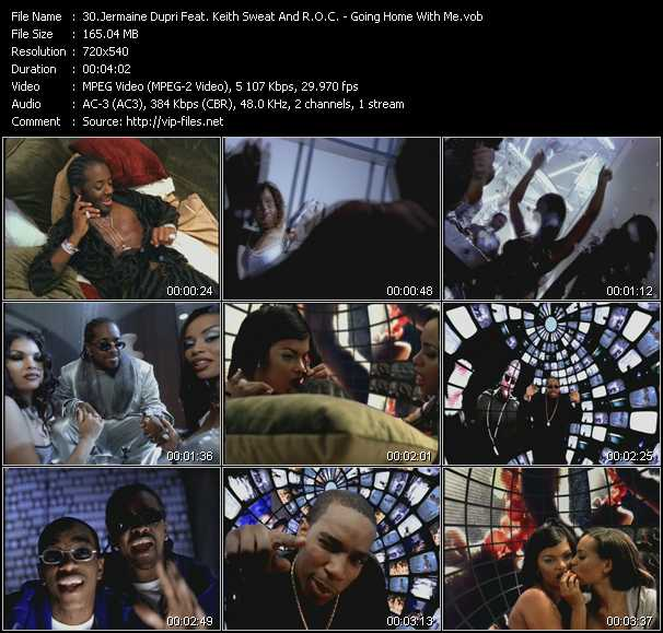 Jermaine Dupri Feat. Keith Sweat And R.O.C. video screenshot