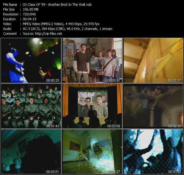 Class Of '99 video screenshot