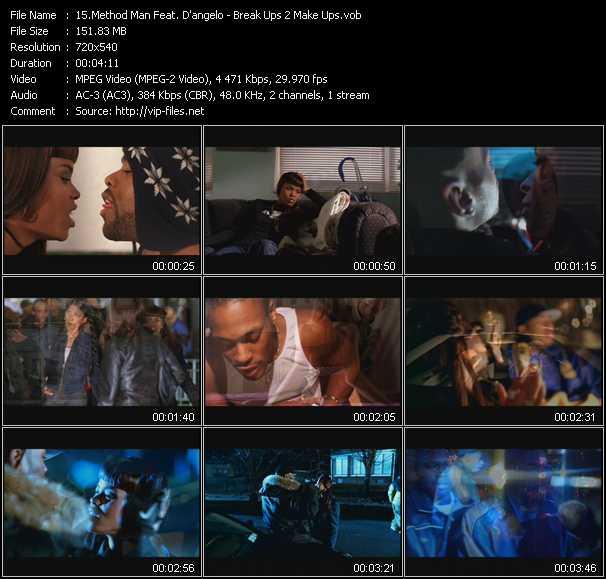 Method Man Feat. D'angelo video screenshot