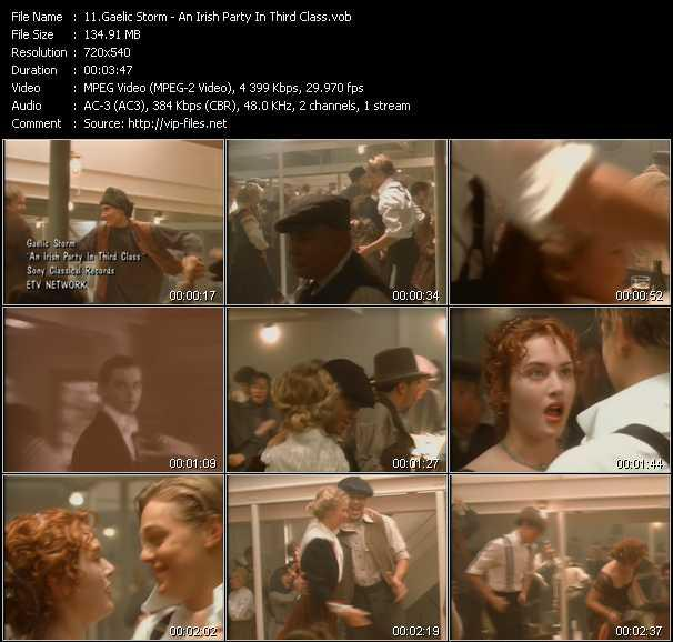 Gaelic Storm video screenshot