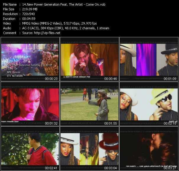 New Power Generation Feat. Prince (The Artist) video screenshot