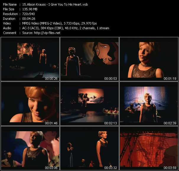 Alison Krauss video screenshot