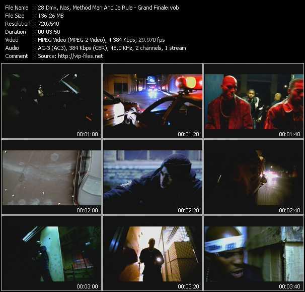 Dmx, Nas, Method Man And Ja Rule video screenshot
