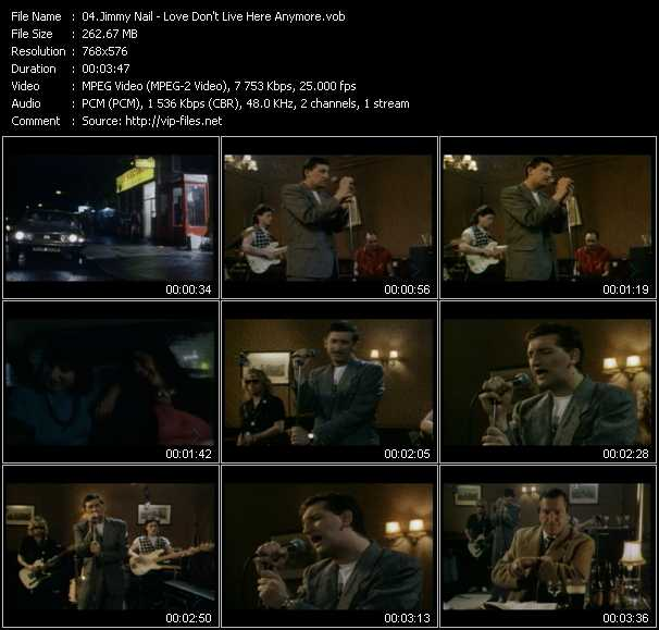 Jimmy Nail video screenshot
