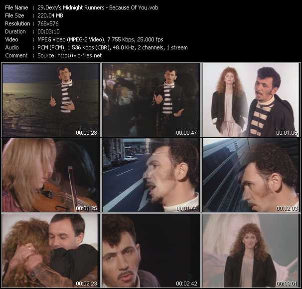Dexy's Midnight Runners video screenshot