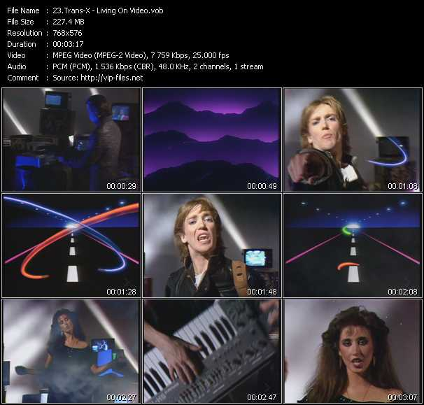 Trans-X video screenshot