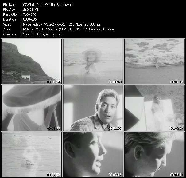 Chris Rea video screenshot
