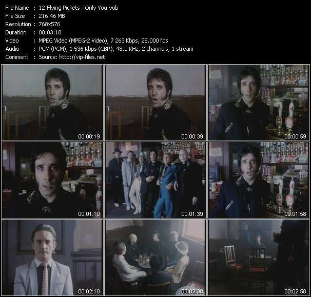 Flying Pickets video screenshot