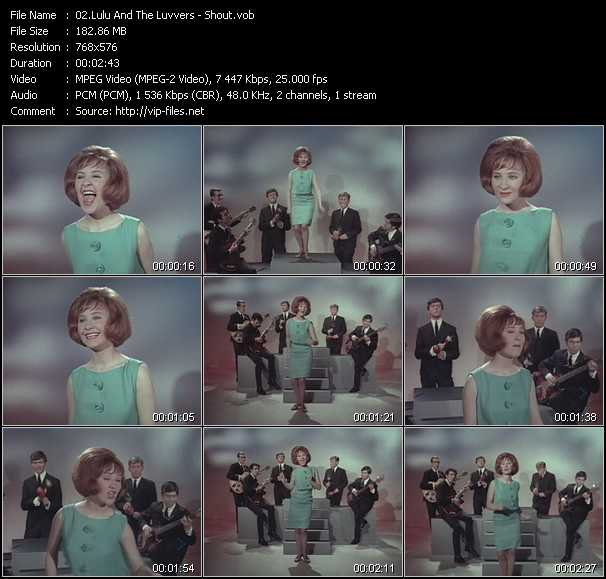 Lulu And The Luvvers video screenshot