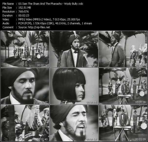 Sam The Sham And The Pharaohs video screenshot