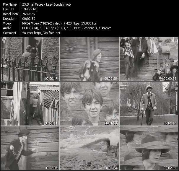 Small Faces video screenshot