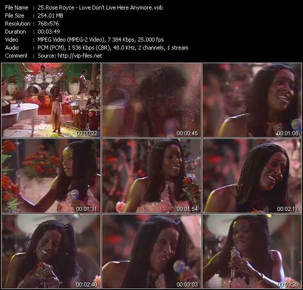 Rose Royce video screenshot