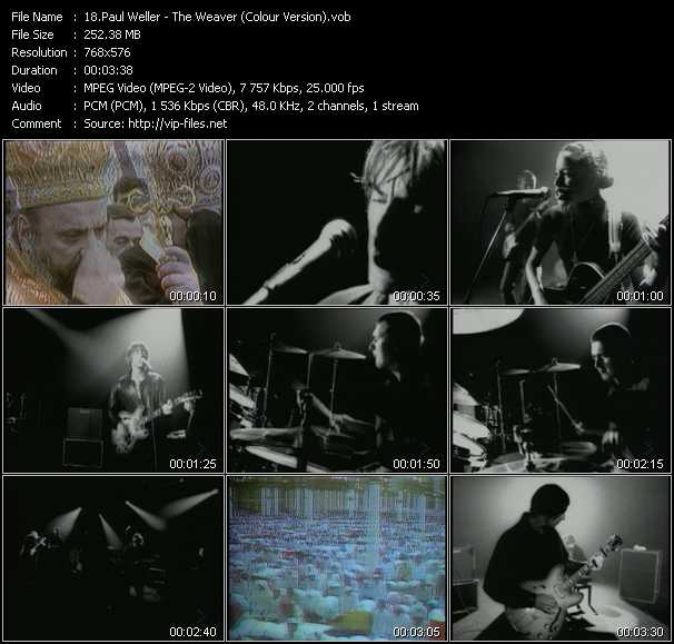 video The Weaver (Colour Version) screen