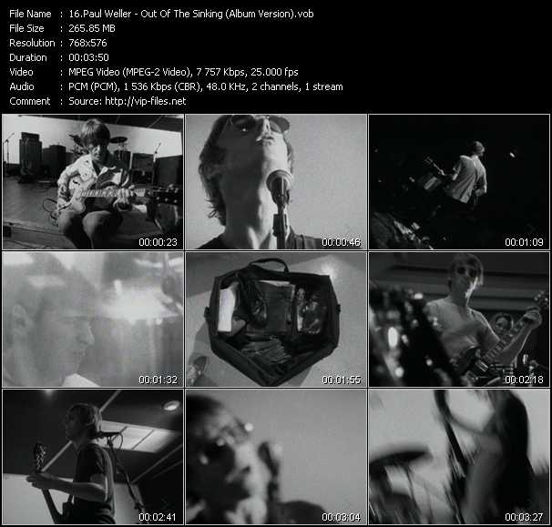 video Out Of The Sinking (Album Version) screen