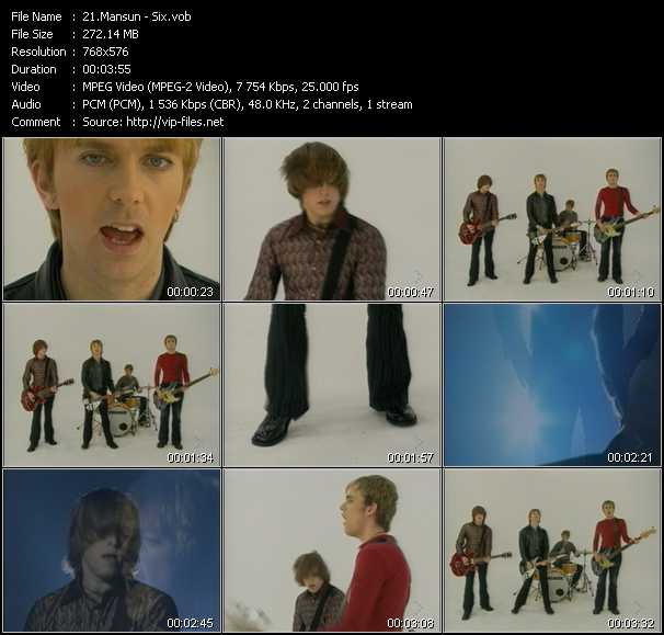 Mansun video screenshot