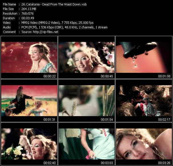 Catatonia video screenshot
