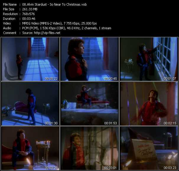 Alvin Stardust video screenshot